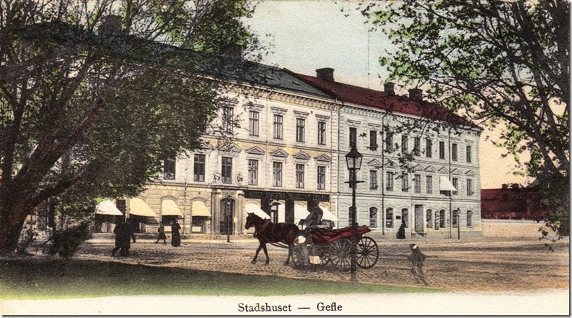 Stadshuset Gefle_ca_1900