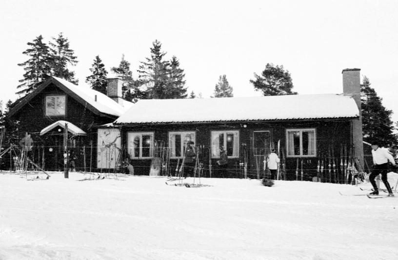 Gamla Hemlingbystugan i Gävle på 50-talet