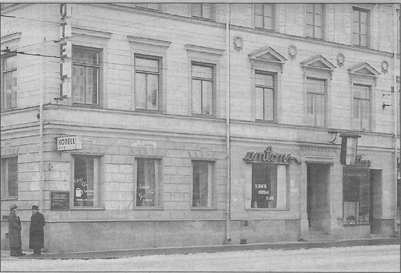 Antons vinrestaurantpå Norra Kungsgatan 3