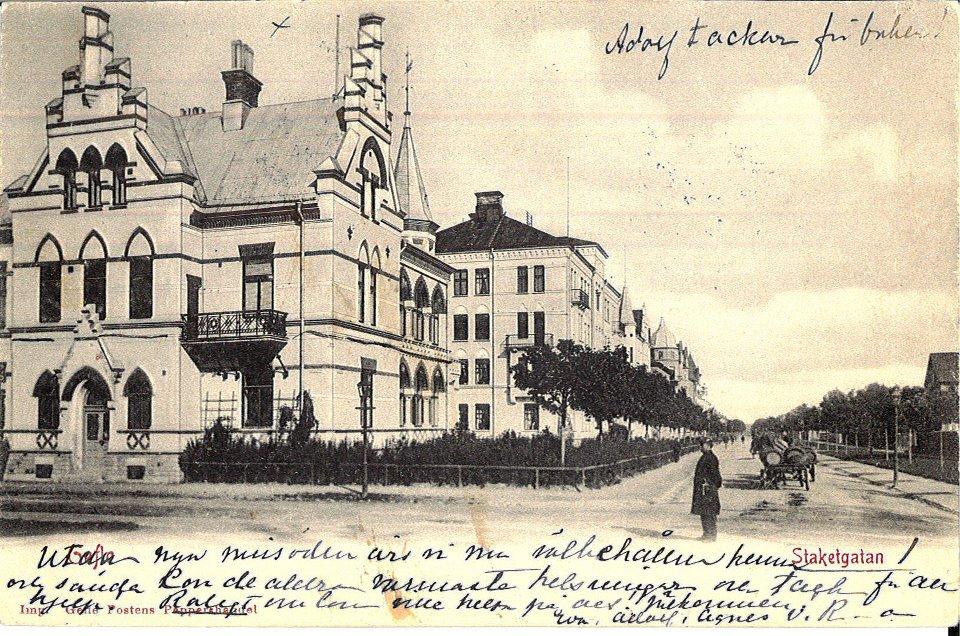 Agnes von Krusenstjernas eget vykort