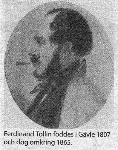 Ferdinand Tollin från Gävle 1807-1865
