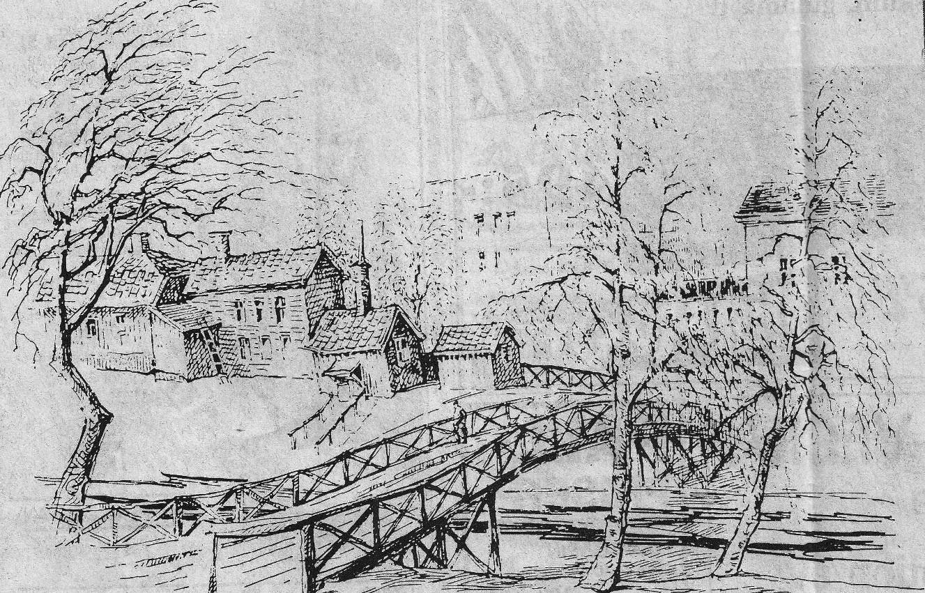 Leif Formgrens teckning 1970