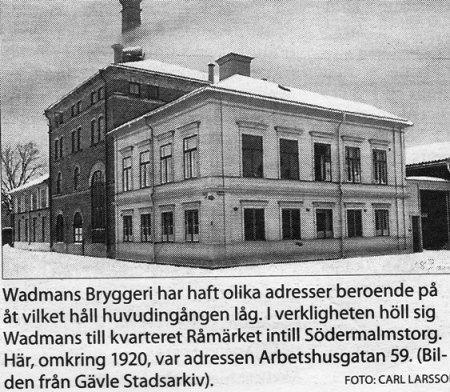 Wadmans Bryggeri