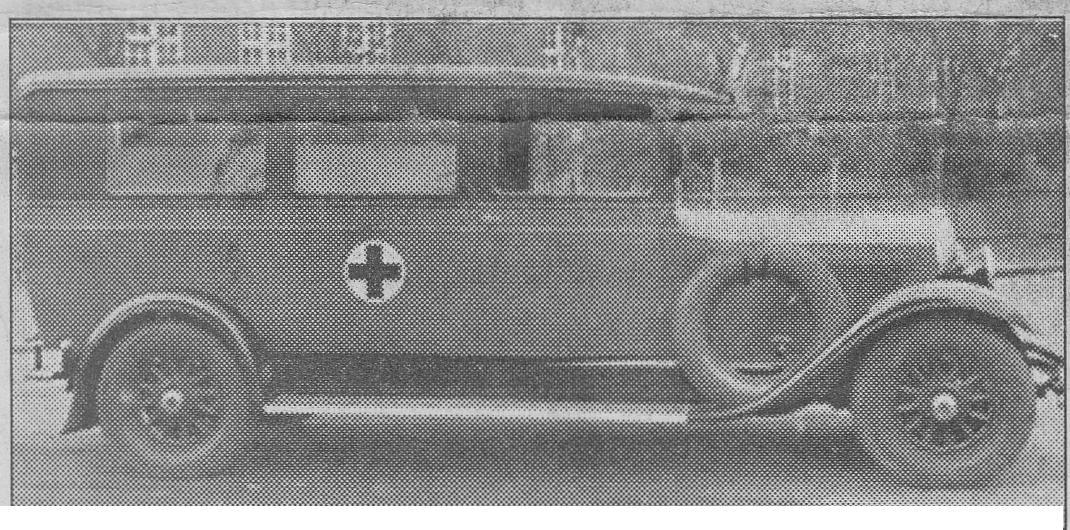 Hälsovårdsnämndens bil inköptes 1931