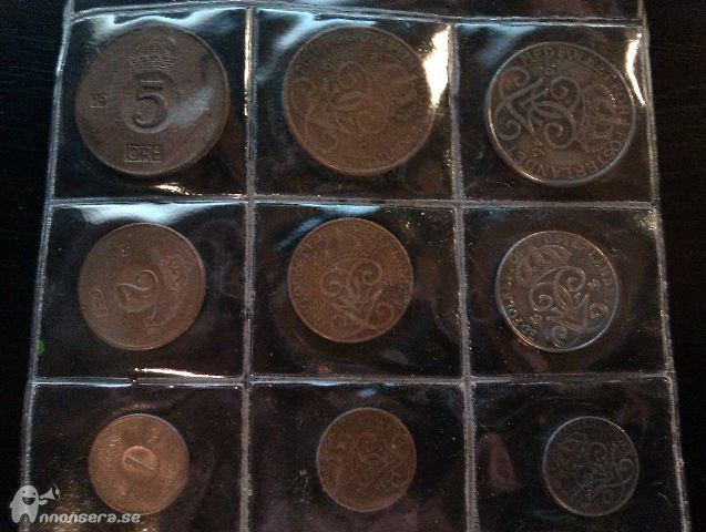 gamla svenska mynt