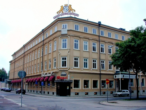 Centralhotellet före branden