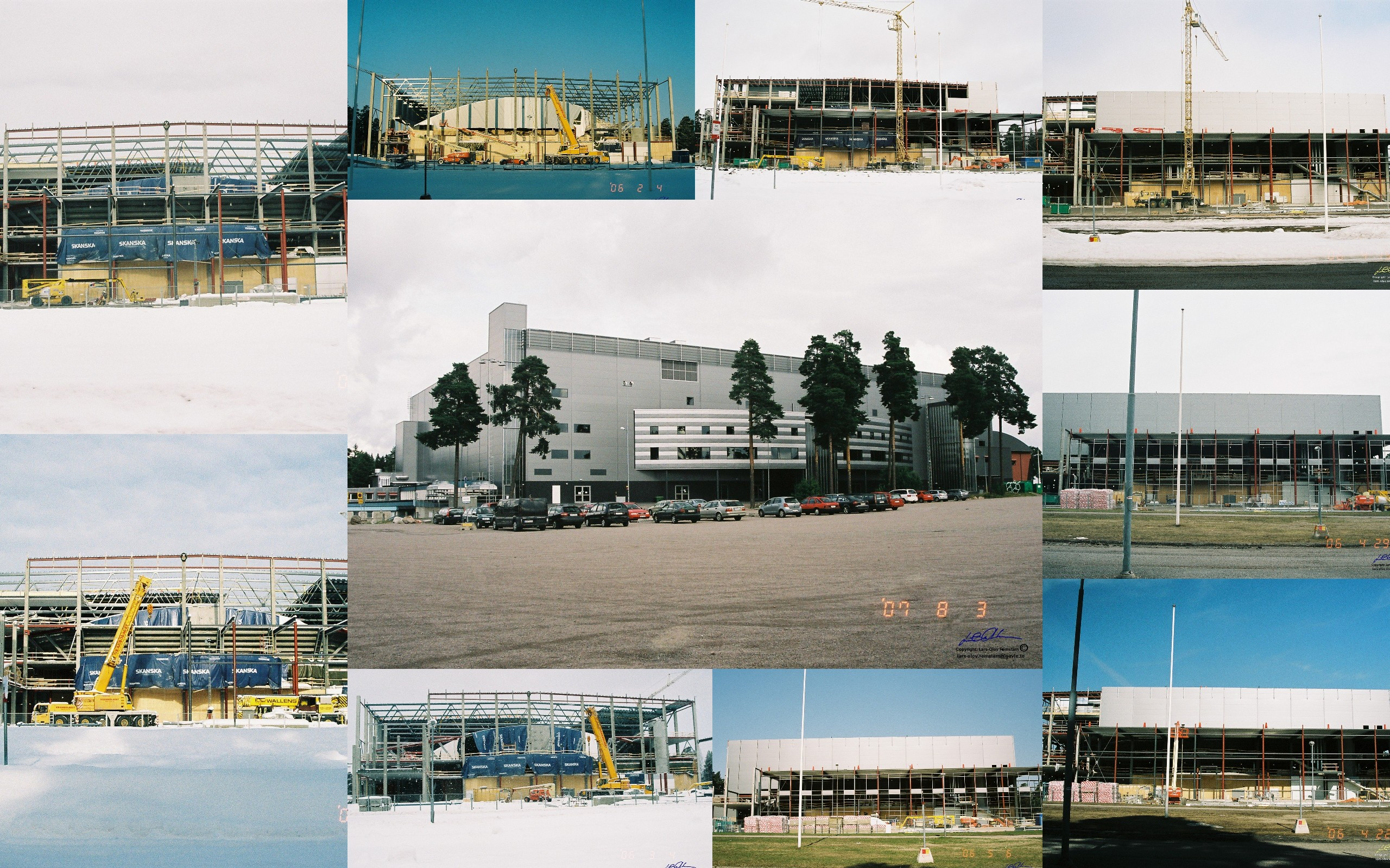 Collage - Läkerol Arena