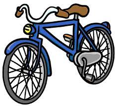 Slängd cykel att snubbla över