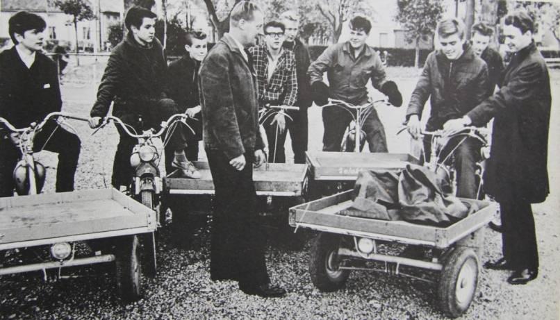 Populärt transportmedel på 50-talet