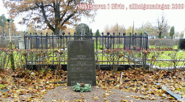 Graven på Gävle gamla kyrkogård