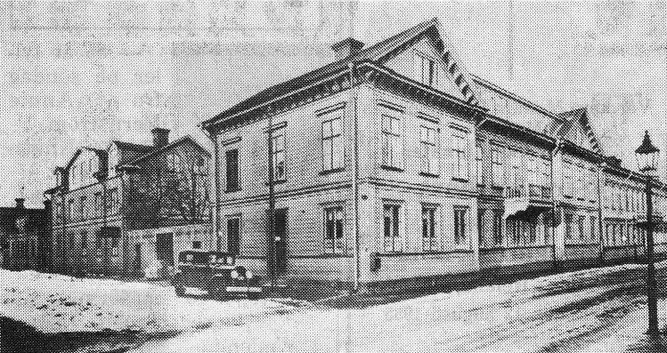 Nygatan 61 låg i kvarteret Rysshuset.