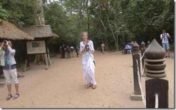 Angkor, turisterna siktar in sig