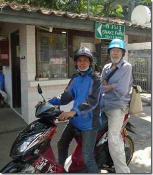 Bangkok en Yamaha ar snabb som en kobra i trafiken