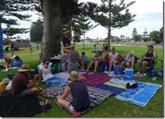 Fremantle, grillparty pa stranden