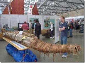 Hobart. Aboriginal vessel