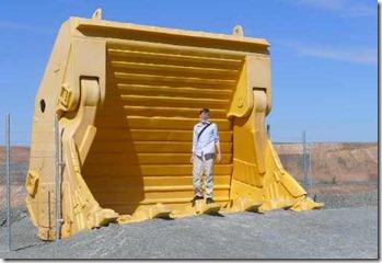 Kalgoorlie, skopa som kan ta 60 ton