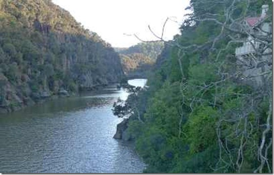 Launceston, the inlet to the Gorge
