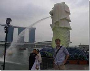 Singapore, brudpar med linslus