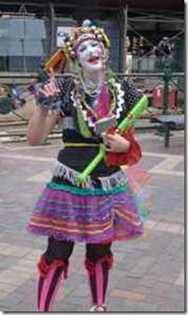 Sydney. Street performer