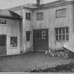 Målerifirman Emil Sjöström & Sons verkstad vid N Centralgatan 26