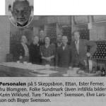 """Personalen hos """"Ettan"""" på S Skeppsbron"""