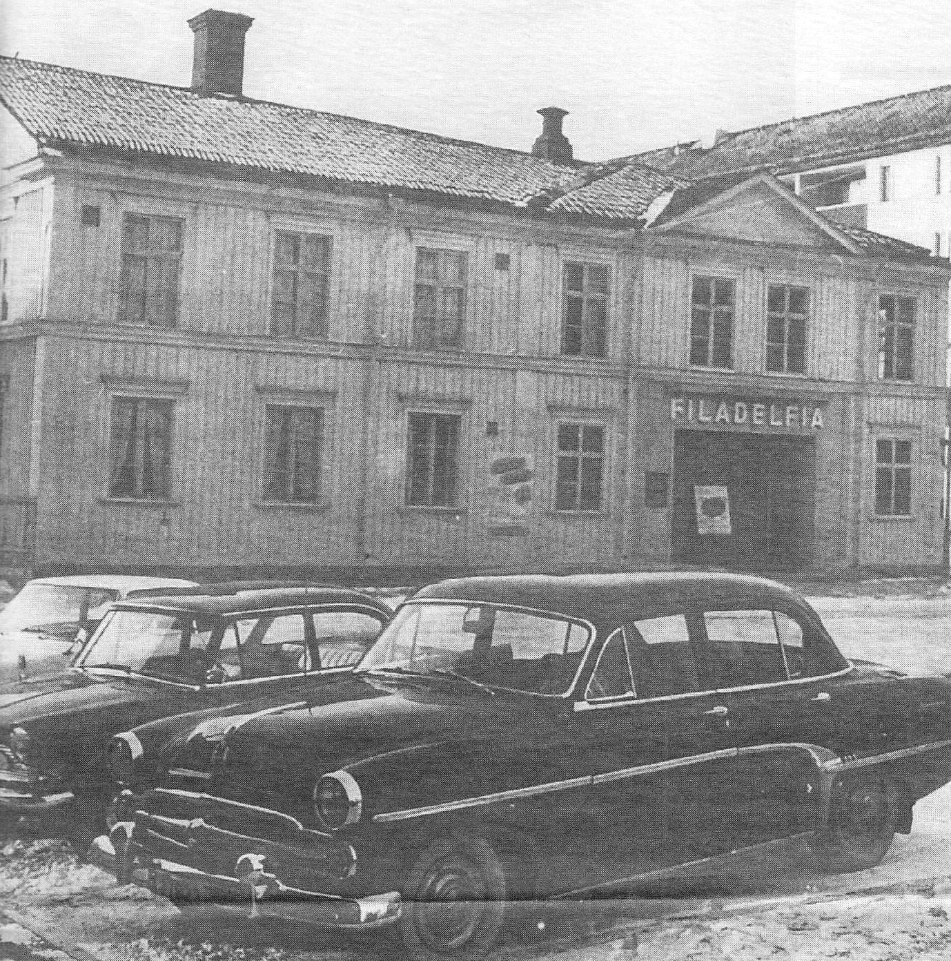 Tidigare Södra bönhuset 1855 och sedan Pingstförsamlingens Filadelfia 1924