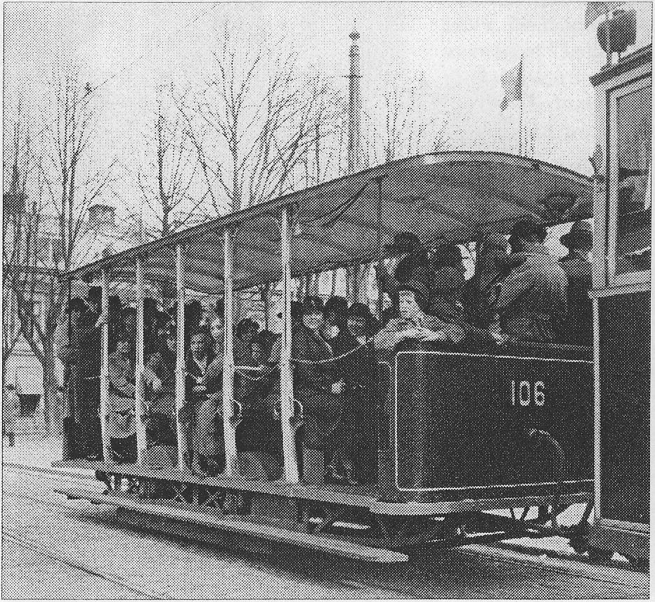 Öppen släpvagn till spårvagn 1909
