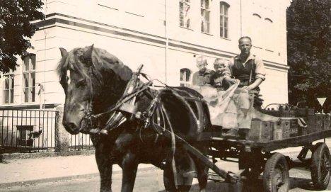 Bryggarmästare Karlsson samt bröderna Aspenberg
