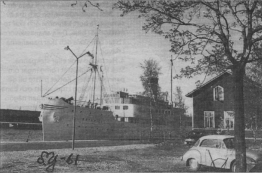 Brynhild - Vår förbindelse med Åbo.