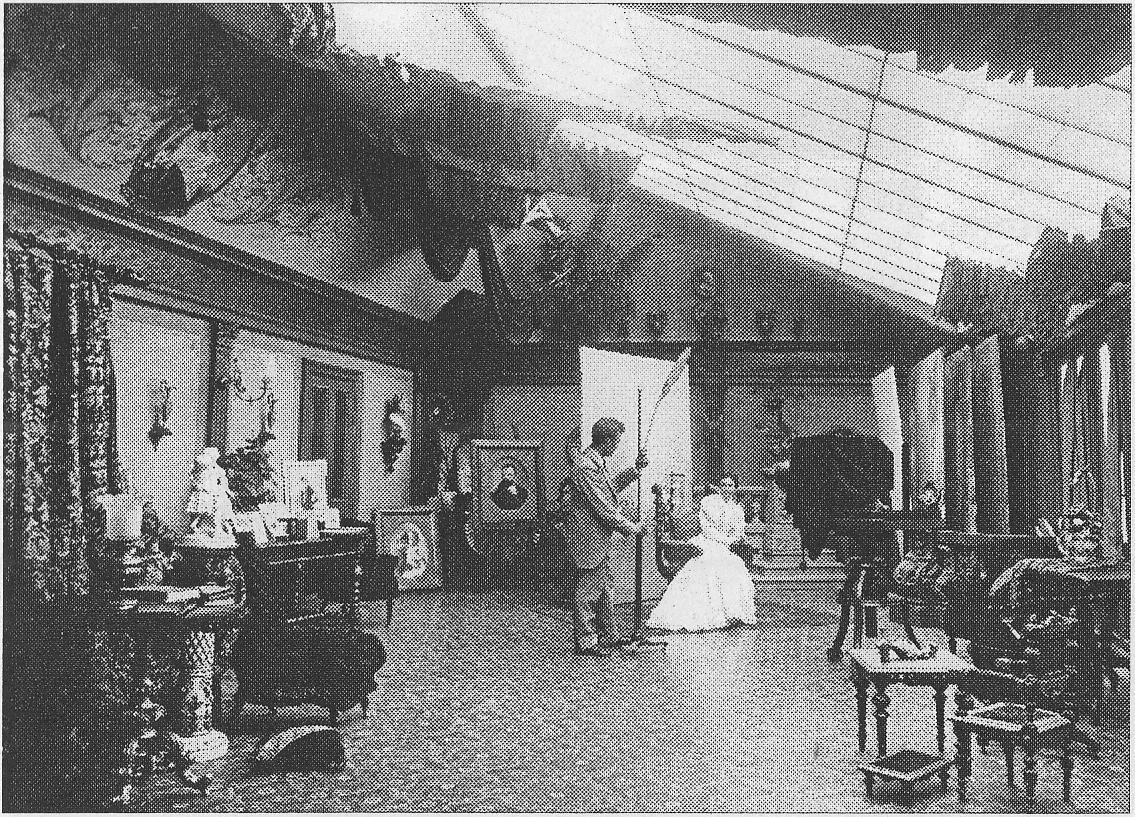 Carl Larssons ateljé Nygatan 34 1893.