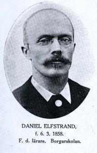 Daniel Elfstrand d.y. (1858-1945)