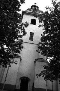 Heliga Trefaldighetskyrkans lutande torn