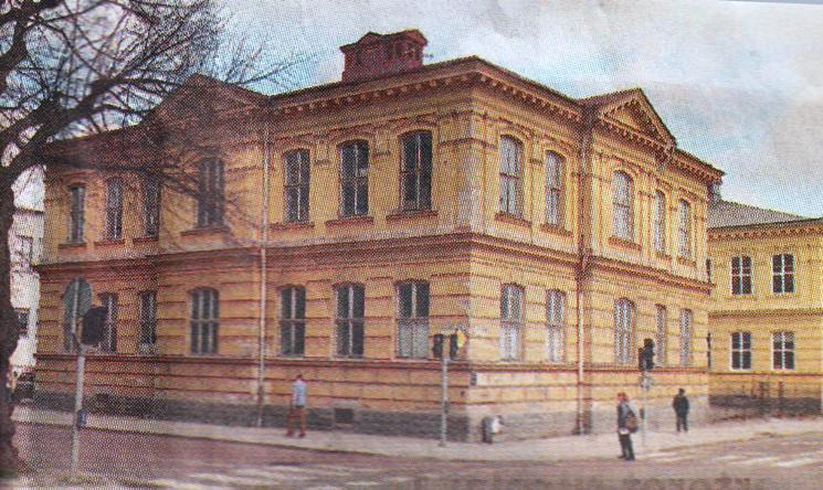 Norra skolan, bild 1 Norra skolan 1908, Foto:Reimers.