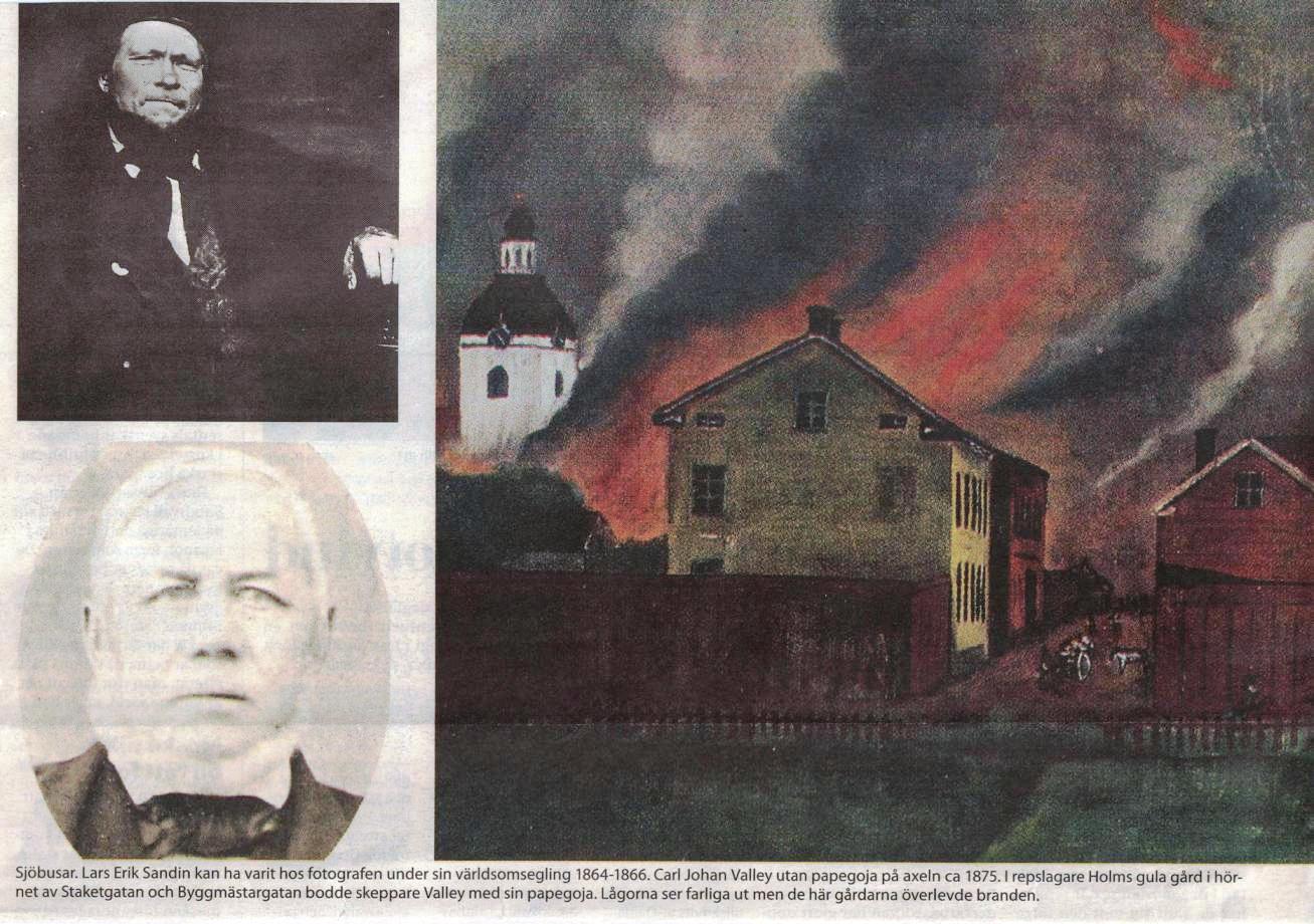 Repslagare Holms gula gård klarade branden
