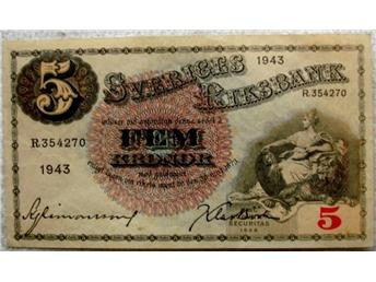 Fem-kronorssedel