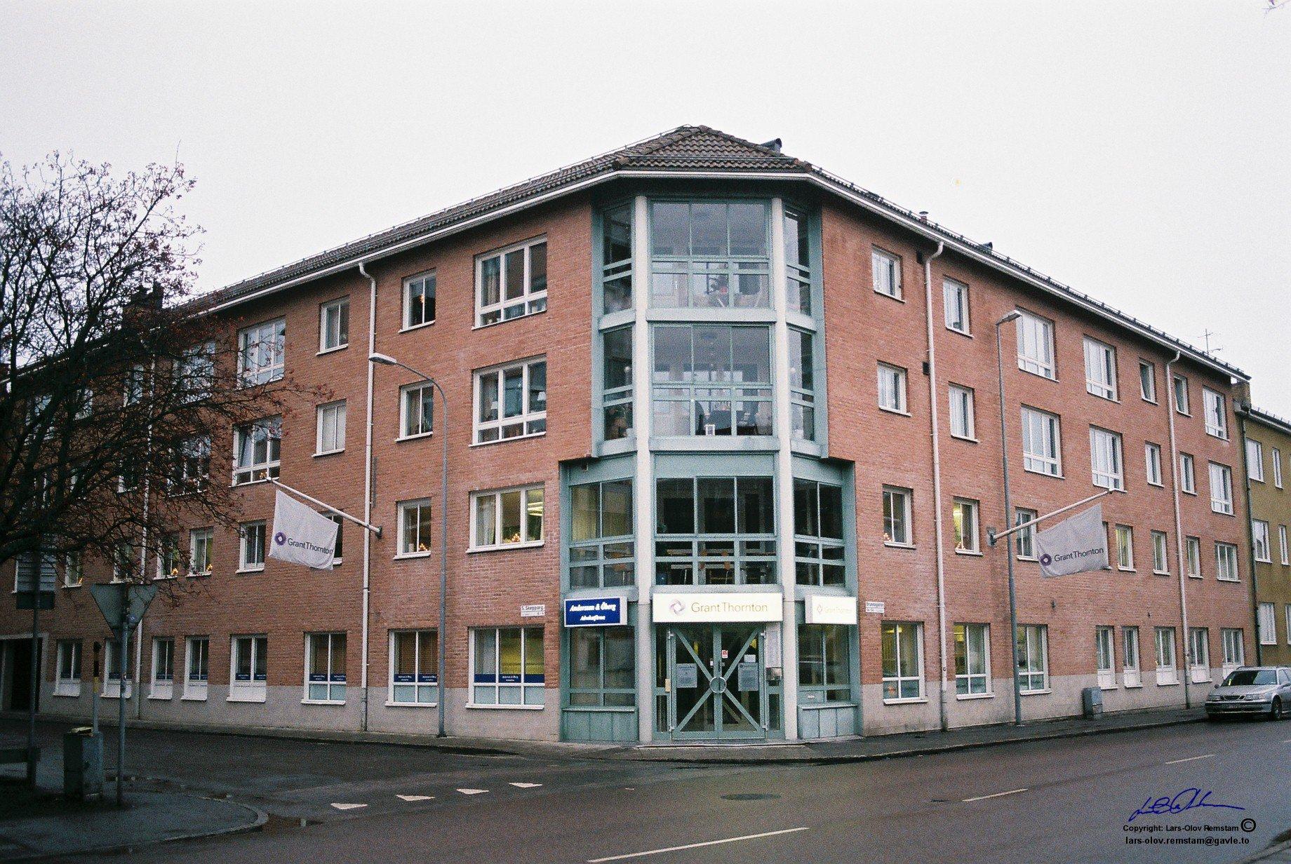 Brunnsgatan 65 med nytt utseende