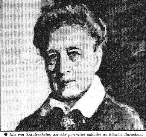 Ida Eleonora Davida von Schulzenheim
