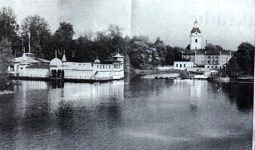 Badhuset Najaden i Stadsträdgården