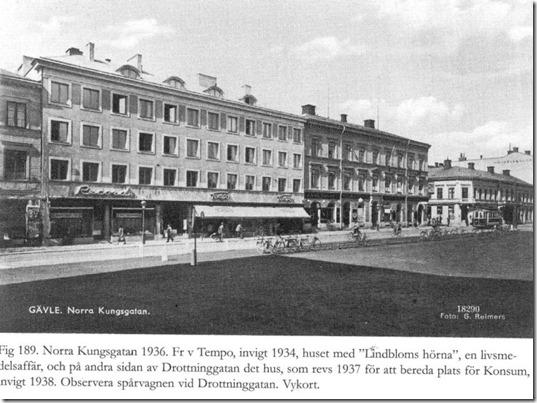 Tempo varuhus 1934 - exteriör