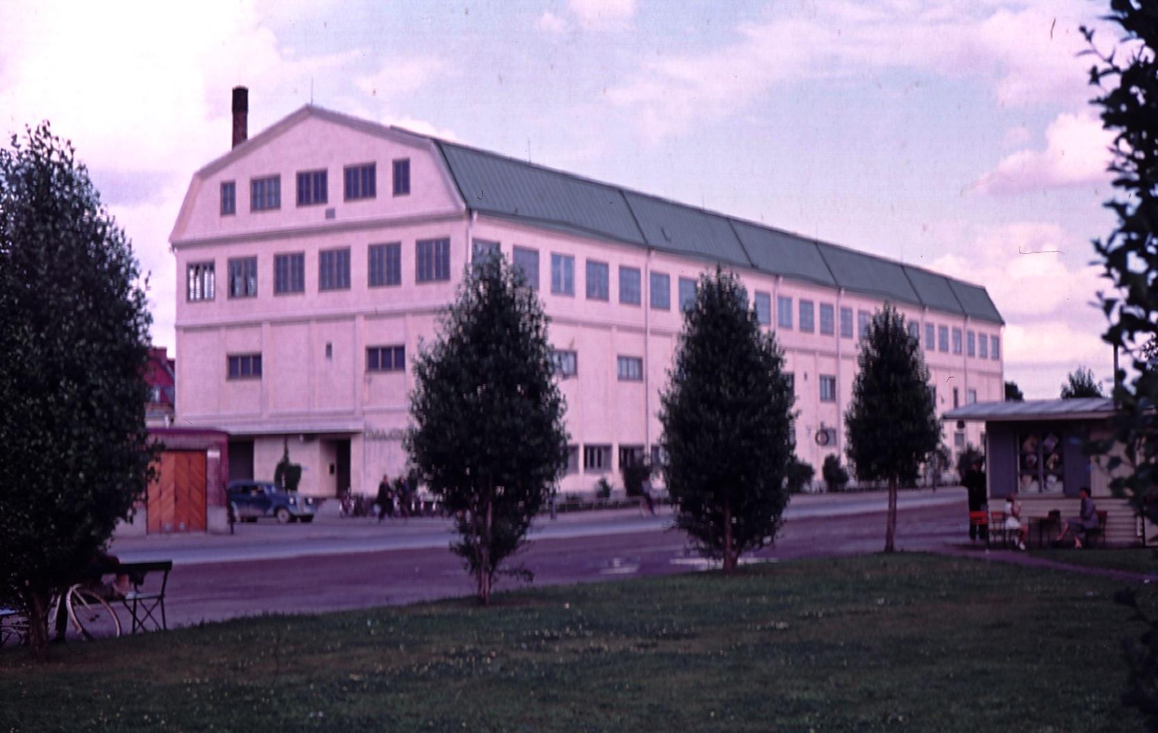 Tobaksmonopolet i Gävle 1954